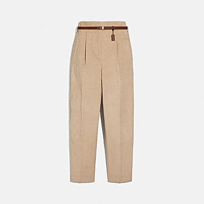 HIGH WAISTED CORDUROY PANTS