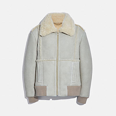 SHEARLING BOMBER 夾克