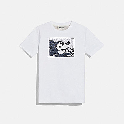 DISNEY MICKEY MOUSE X KEITH HARING T-SHIRT