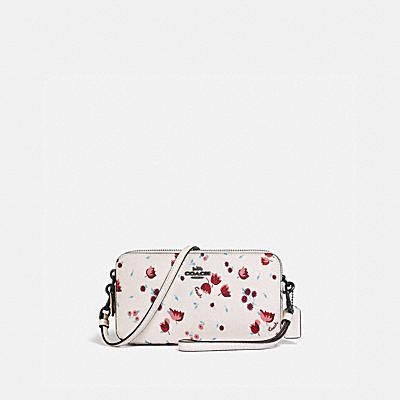 KIRA CROSSBODY WITH TULIP MEADOW PRINT