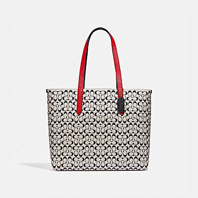 HIGHLINE TOTE IN SIGNATURE LEATHER