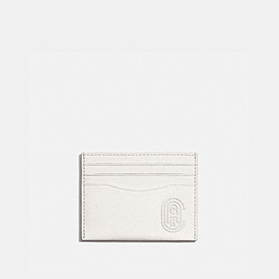 CARD CASE WITH COACH PATCH