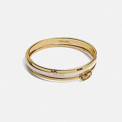 HORSE AND CARRIAGE BANGLE SET