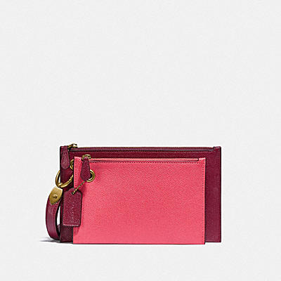 DOUBLE SLIM WRISTLET IN COLORBLOCK