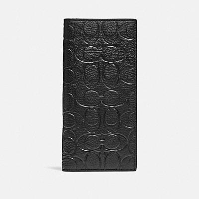 コーチ COACHの長財布 |ブレスト ポケット ウォレット シグネチャー レザー