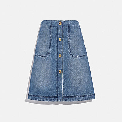 LUNAR NEW YEAR DENIM SKIRT