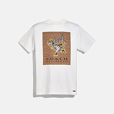 コーチ COACHのウェア |レキシー シグネチャー Tシャツ