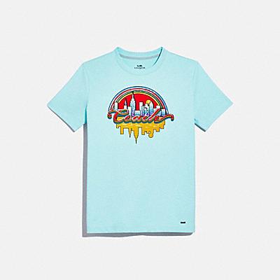コーチ COACHの新作 |レインボー シティ Tシャツ