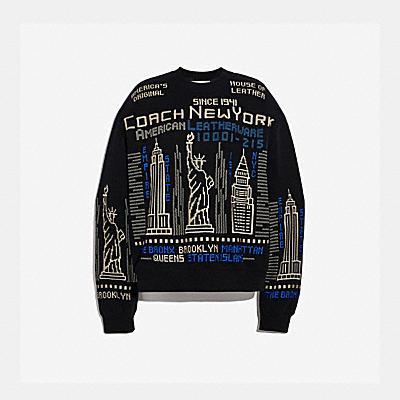 CITYSCAPE 刺繡運動衫