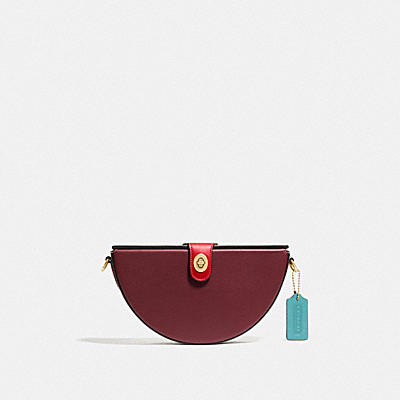 LUNAR NEW YEAR SEMI CIRCLE BAG IN SIGNATURE CANVAS