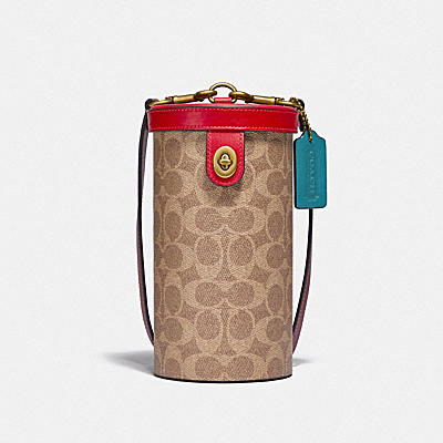 LUNAR NEW YEAR CYLINDER BAG IN SIGNATURE CANVAS