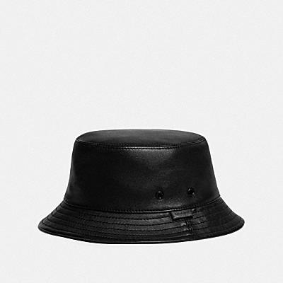 皮革漁夫帽