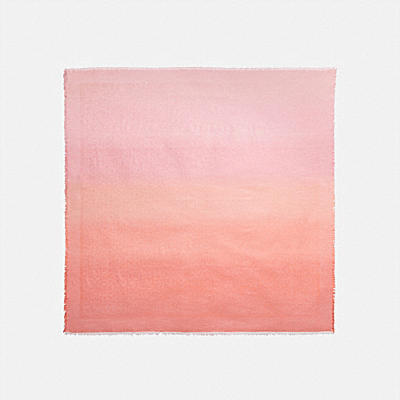 SIGNATURE OMBRE OVERSIZED SQUARE SCARF