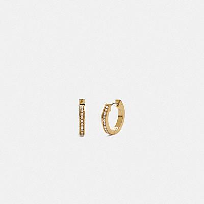 經典水晶珍珠耳環