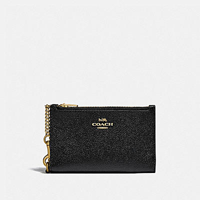 コーチ COACHの財布&革小物 |ジップ チェーン カード ケース