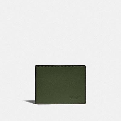 コーチ COACHのカラーブロック スタイル |【オンライン限定】スリム ビルフォールド ウォレット カラーブロック