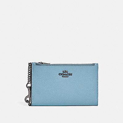 コーチ COACHの全ての財布&革小物 |ジップ チェーン カード ケース ウィズ カラーブロック インテリア