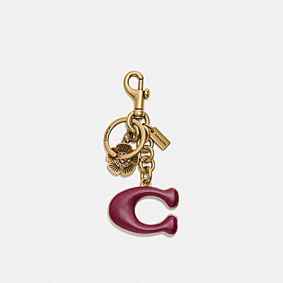 コーチ COACHの全てのファッション小物 |シグネチャー ティー ローズ バッグ チャーム