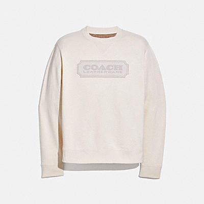 COACH BADGE SWEATSHIRT
