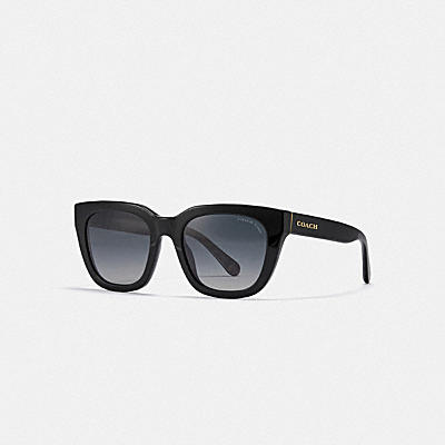 ASIA FIT LEGACY STRIPE SQUARE SUNGLASSES