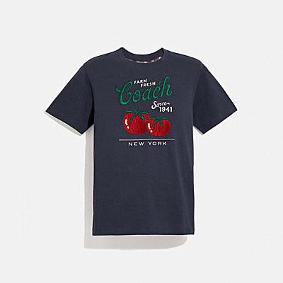 コーチ COACHの全てのメンズウェア |ガーデン プリント Tシャツ