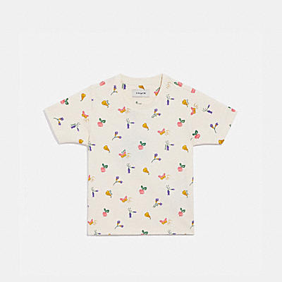 CHILDREN'S GARDEN PRINT T-SHIRT