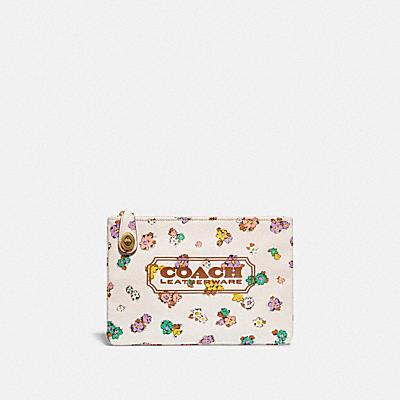 コーチ COACHの新作 |【オンライン限定】ターンロック ポーチ 26 オーガニック コットン キャンバス