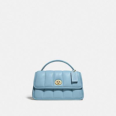 コーチ COACHのバッグ |ターンロック クラッチ 20 ウィズ キルティング