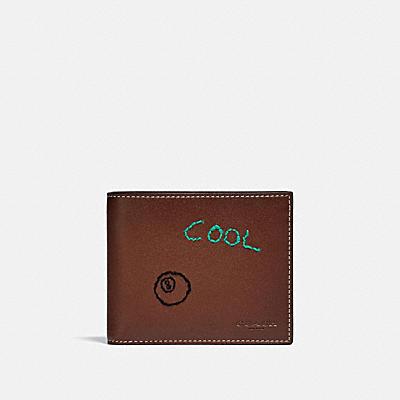 コーチ COACHの全ての財布&革小物 |3-IN-1 ウォレット ウィズ エンブロイダリー