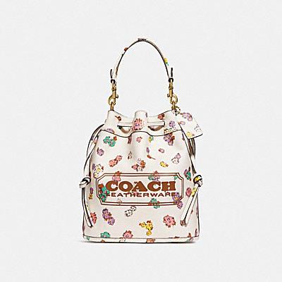 コーチ COACHのバッグ |フィールド バケット バッグ オーガニック コットン キャンバス