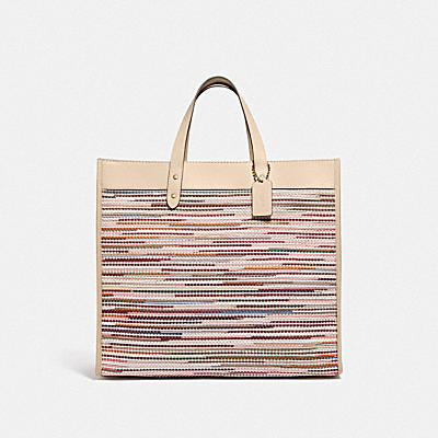 FIELD TOTE 40 WITH WEAVING
