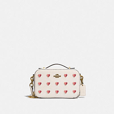 ALIE BELT BAG WITH HEART EMBROIDERY