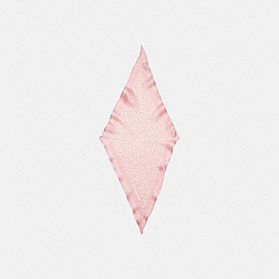 コーチ COACHの新作 |グラフィック ディッチー プリント シルク ダイヤモンド スカーフ