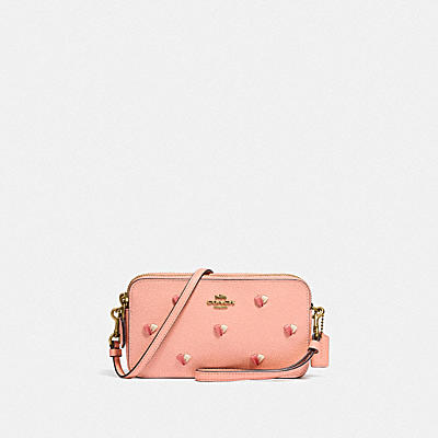 KIRA CROSSBODY WITH HEART EMBROIDERY