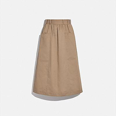コーチ COACHの新作 |トレンチ スカート
