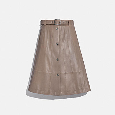 PANELED TRENCH SKIRT