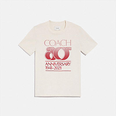 COACH 80TH ANNIVERSARY T-SHIRT