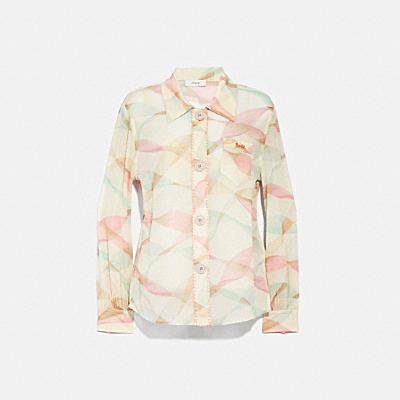 印花休閒襯衫