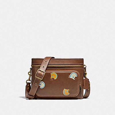 UTILITY CROSSBODY WITH FOOTBALL PRINT