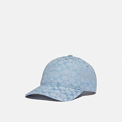 SIGNATURE DENIM BASEBALL CAP
