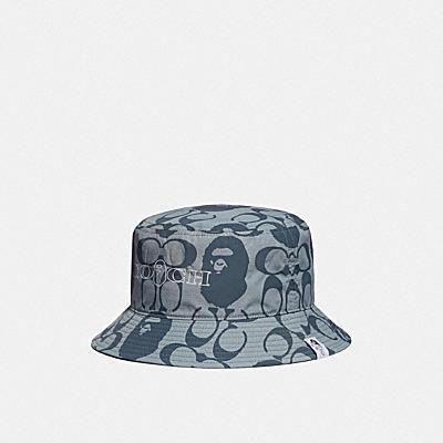 BAPE X COACH BUCKET HAT