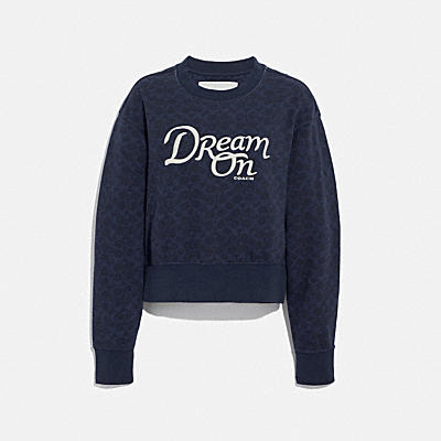 DREAM ON CREWNECK