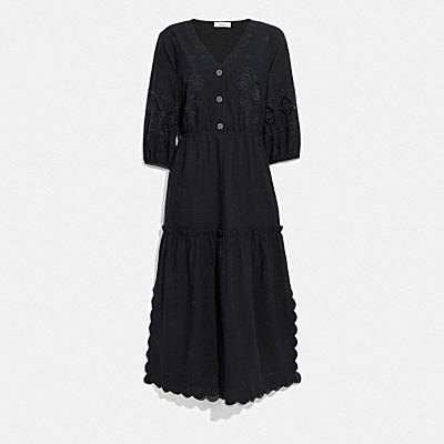 BRODERIE ANGLAISE SHIRT DRESS