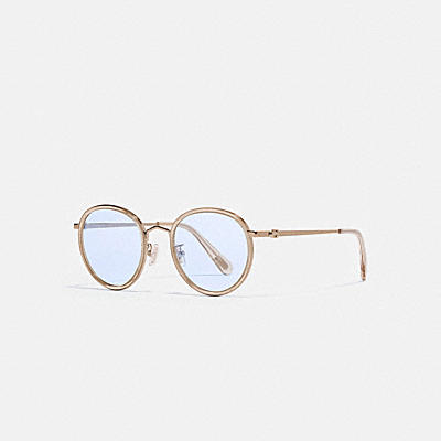 THIN ROUND SUNGLASSES