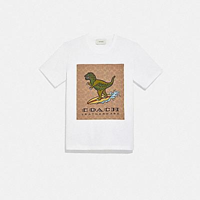 コーチ COACHの新作 |【日本限定】レキシー プレイ シグネチャー サーフ Tシャツ