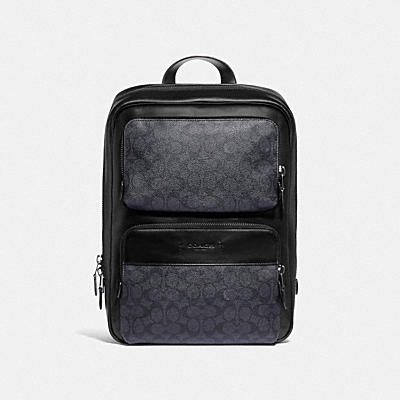 GOTHAM BACKPACK IN SIGNATURE CANVAS