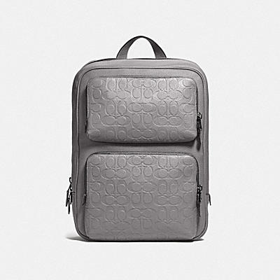 GOTHAM BACKPACK IN SIGNATURE LEATHER