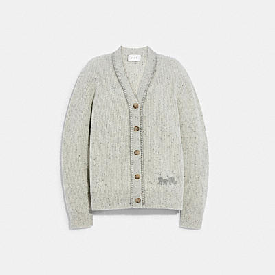 RECYCLED CASHMERE CARDIGAN