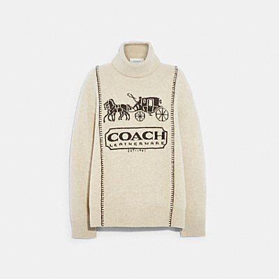 HORSE AND CARRIAGE SWEATER