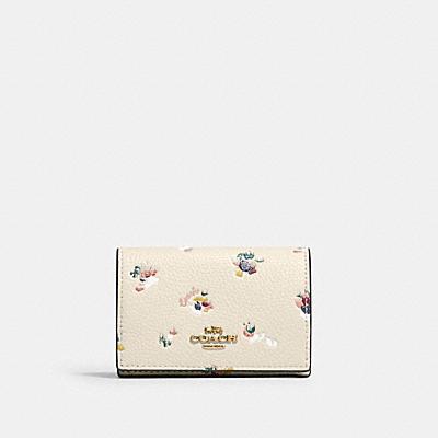 コーチ COACHの財布&革小物 |【日本限定】オリガミ ウォレット ウィズ フローラル プリント